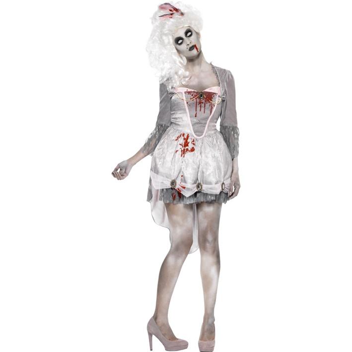 Kostým pro ženy - Zombie barokní komtesa - Půjčovna kostýmů Ípák 8f2704ef115