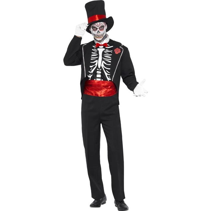 Kostým pro muže - Mrtvý ženich (Mexický styl) - Půjčovna kostýmů Ípák 5e6919c4f56