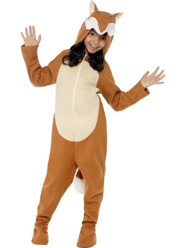 Dětský zvířecí kostým - Liška - Půjčovna kostýmů Ípák 2a3b4c697d