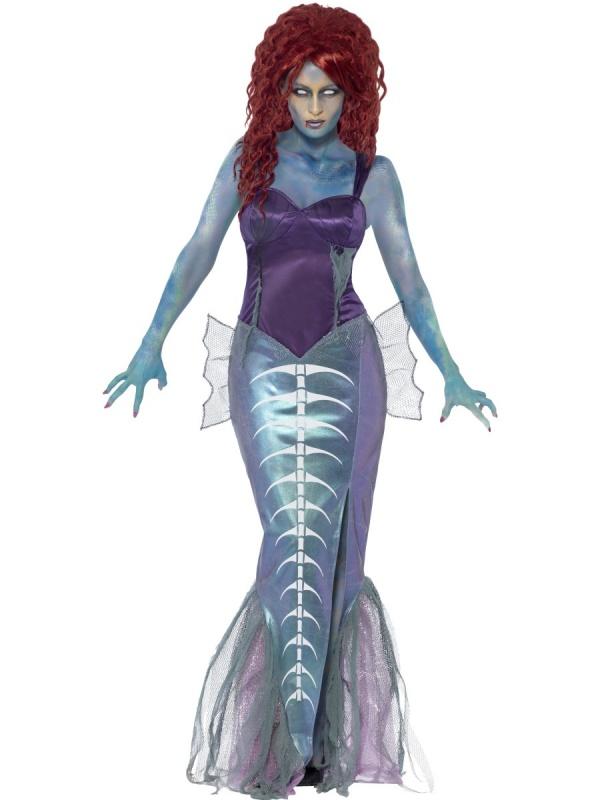 Kostým pro ženy - Zombie mořská panna - Půjčovna kostýmů Ípák af55ab57449