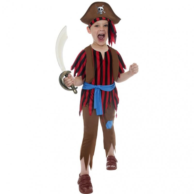 Dětský kostým pro chlapce - Zuřivý pirát - Půjčovna kostýmů Ípák a125294519b